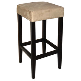 Picture of HK Sterling 29-in Barstool - Tan Suede