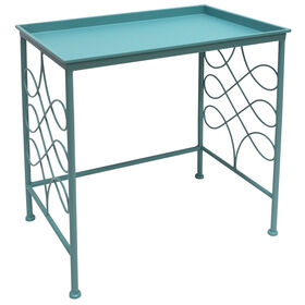 Picture of Spa Blue Tray Table- 14x20 in.