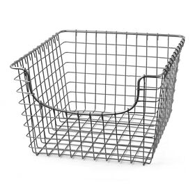 Picture of Medium Wire Scoop Basket, Satin Nickel