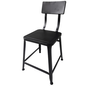 Picture of Black Stool Style Dining Chair