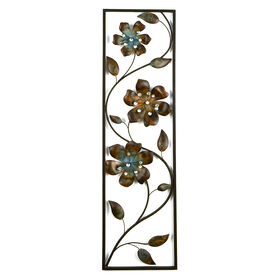 Picture of 10 X 36-in Flower Panel with Jewels