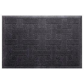 Picture of Black Trapper Doormat 17 X 26-in