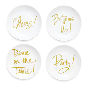 Picture of Dance Plates 6-in- Set of 4