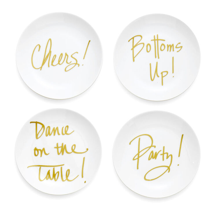 Dance Plates 6-in- Set of 4