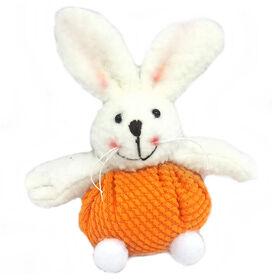 Picture of Bunny in Bright Orange Yarn