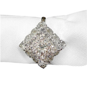 Picture of Crystal Napkin Ring, Set of 4