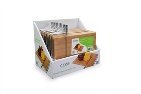 Core Bamboo Cheese Board and Slicer