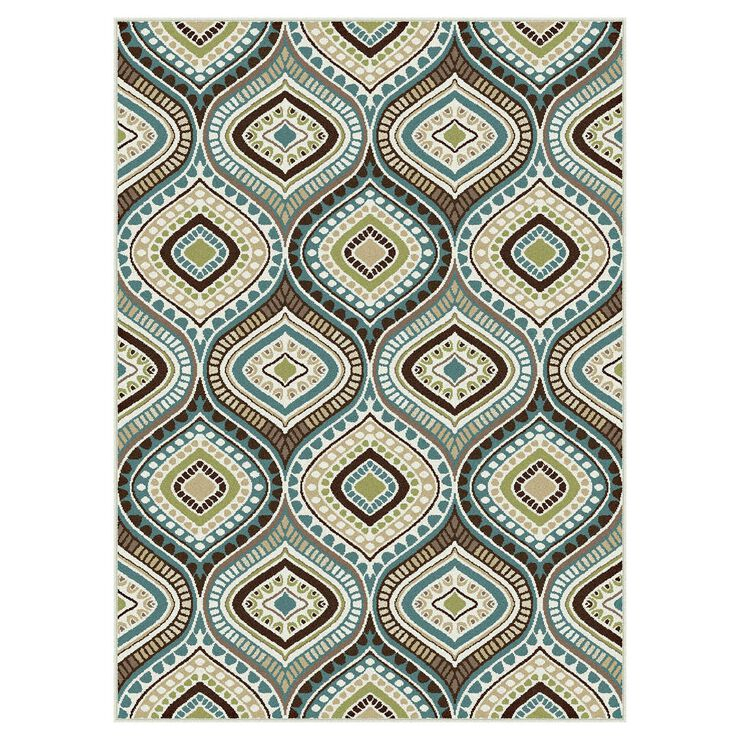 Studio Teardrop Rug 3x5-ft
