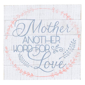 Picture of ALT 9X9 MOTHER WORD LOVE