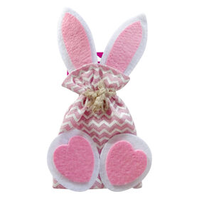 Picture of Pink Fabric Gift Back with Ears