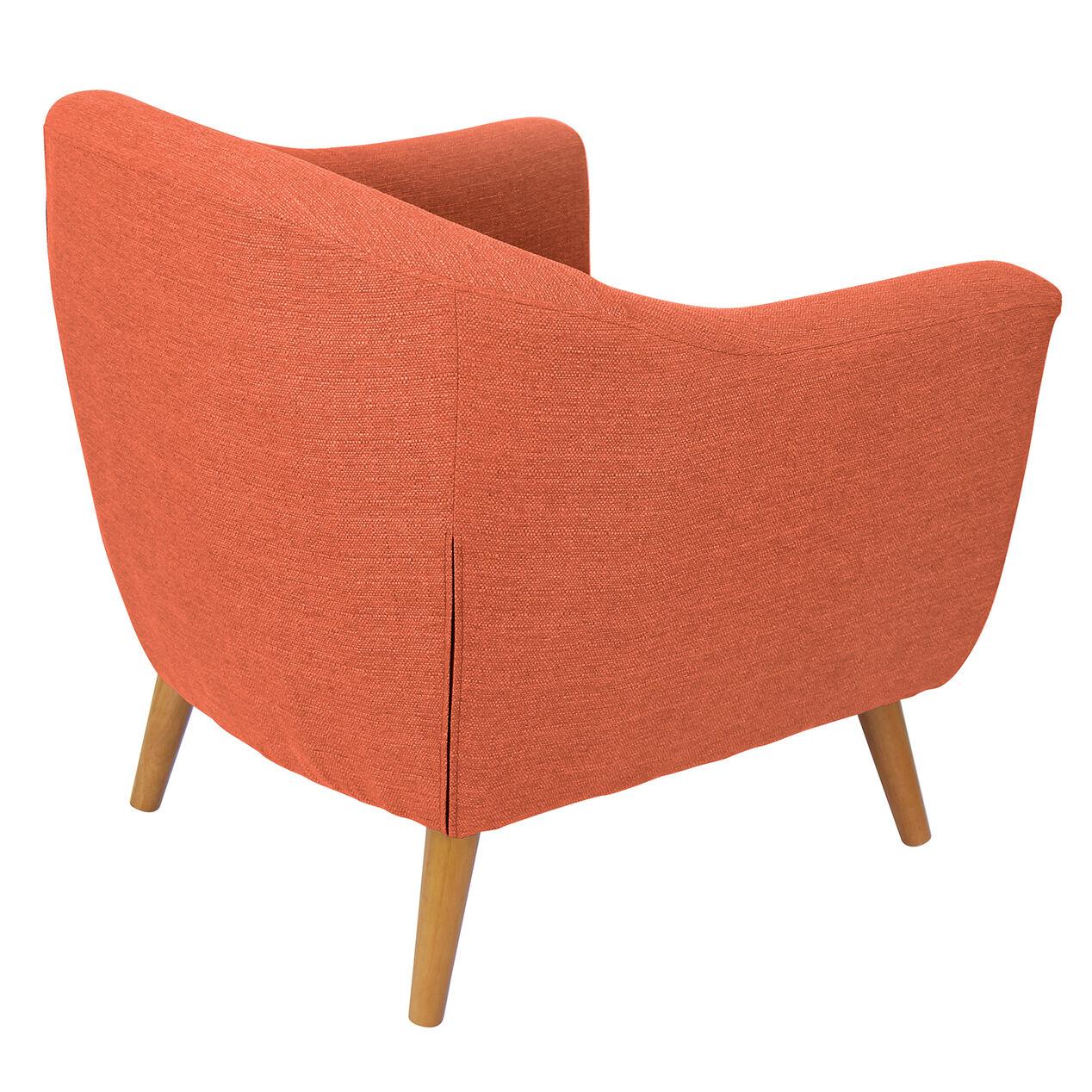 Orange accent chair -  Rockwell Accent Chair Orange