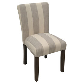 Picture of Striped Parson S Chair