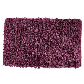 Picture of Plum Paper Shag Accent Rug 20 X 34-in