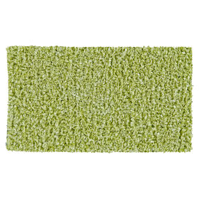Picture of Lime Shiny Fur Shag Accent Rug 20 X 34-in