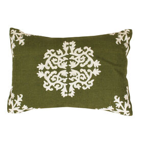 Picture of Antonia Pillow- Jute & Olive 13x18-in