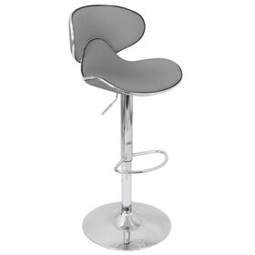 Picture of Duo Adjustable Barstool - Gray