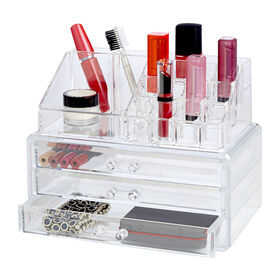 Picture of 19-Compartment Cosmetic Organizer with Drawers