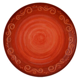 Picture of Siena Melamine Dinner Plate - Red