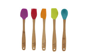 Picture of Bamboo Silicon Mini Utensil, Assorted  (sold separately)