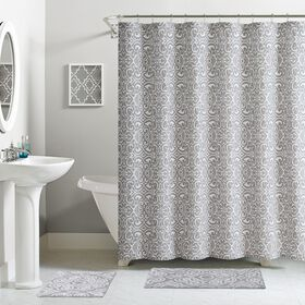 Picture of Cotton Shower Curtain Set- 13 Piece