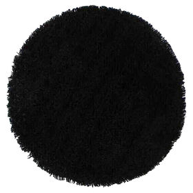 Picture of C26 Black Shag Rug