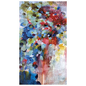 Picture of Summer Symphony Abstract Canvas Art- 36x60 in.