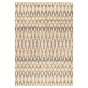 Picture of A241 Ikat Ombre Moroccan Shag Rug