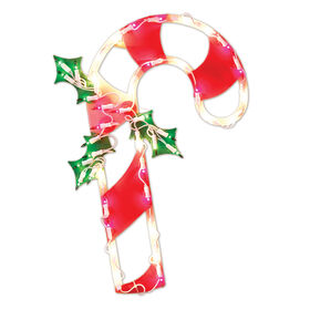 Picture of Ornamental Candy Cane 17-in