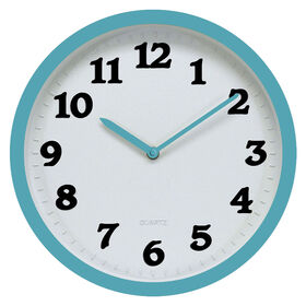Picture of 12-in Embossed Numbers Clock