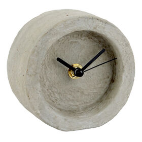 Picture of CEMENT TABLETOP CLOCK 4