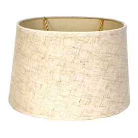 Picture of Natural Linen Oval Lamp Shade
