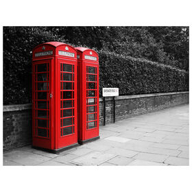 Picture of 30 X 40-in London Phone Booth Gallery Art