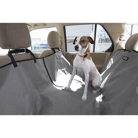 Picture of Gray Pet Car Seat Cover