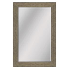 Picture of 24 X 36-in Oak Wood Grain Mirror