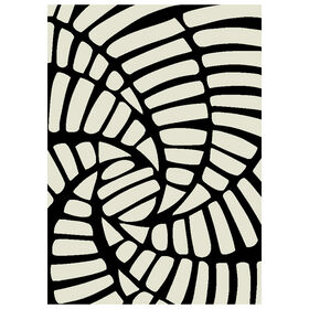 Picture of B463 STAIRCASE WHITE/BLACK 5X7