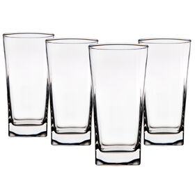 Picture of 17-oz Square Highball Glasses - Set of 4