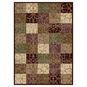 Picture of Multicolor Basic Balboa Rug 5 X 7 ft