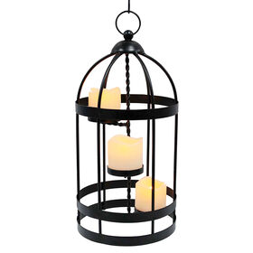 Picture of 15-in. 3-Candle Electric Lantern