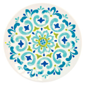 Picture of Spanish Tile Melamine Salad Plate