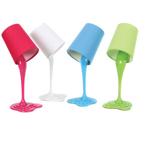 Picture of 15in Spilled Lamp - Assortment of 4 Colors