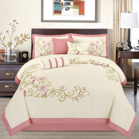 Picture of ANNABELLE 7PC IVORY/BLUSH QU