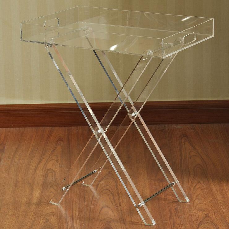 Homcom 3 Pc Acrylic Nesting Table Set In 2018 Smart Design
