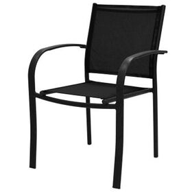 Picture of Black Sling Low-back Chair