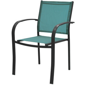 Picture of Spa Blue Sling Low-back Chair