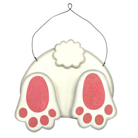 Picture of Bunny Tail Wall Decor- 10.5 in.