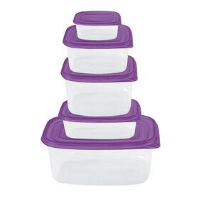 Picture of 30-pc Storage Set, Purple
