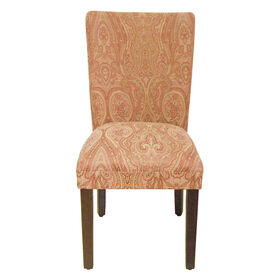 Picture of Parsons Chair - Red Paisley