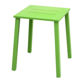 Picture of Green Square Slat End Table- 14 in.