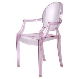 Picture of Lucite Chair - Pink
