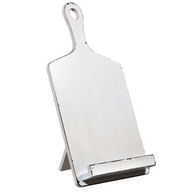 Picture of White Cookbook Holder
